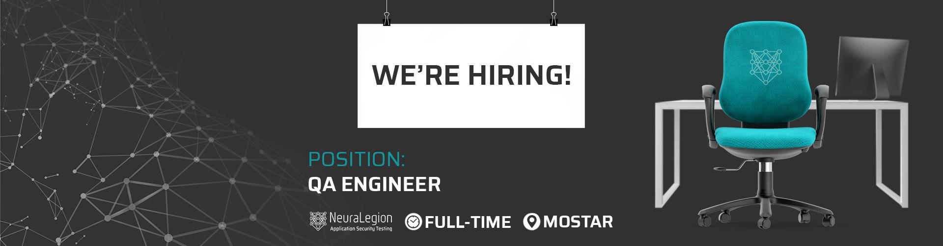 Website banner - QA Engineer